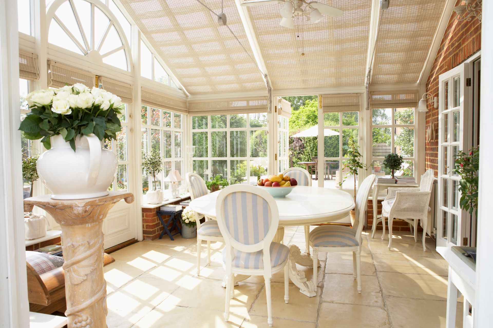 Conservatory with Roof Blinds
